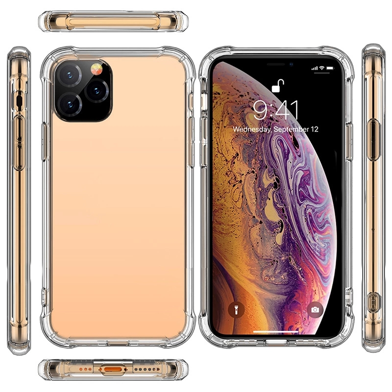For Iphone 11 Pro <strong>Max</strong> Cover Cell Mobile Custom Clear Tpu Accessories Oem Transparent Phone Case