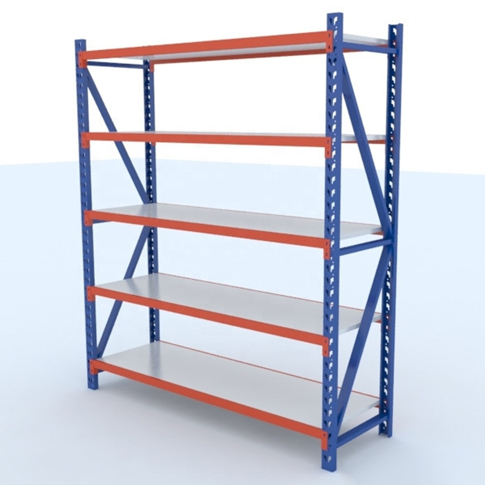 easy-install height adjustable 5 layers metal storage shelf <strong>rack</strong>