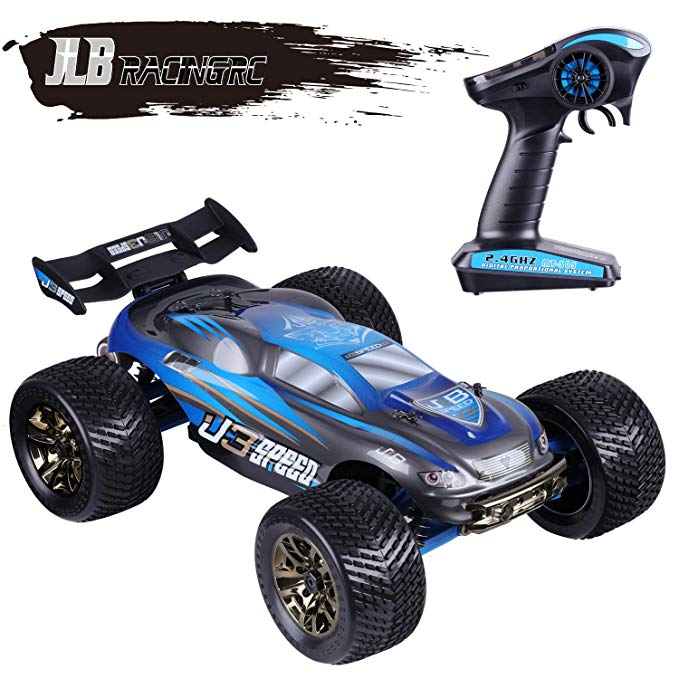 1/10 Scale Brushless RC <strong>Car</strong>, <strong>100</strong> KM/<strong>H</strong> 4WD 2.4GHZ RC Truck 4x4 Off Road RTR Monster Truck Waterproof Electric RC <strong>Car</strong>