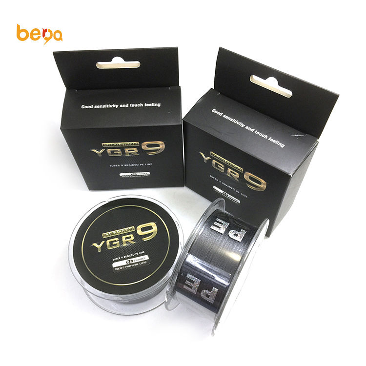 YGR Strong strength Multifilament line <strong>PE</strong> 4 strand and 8 strand and 9 strand braided fishing line for Japan outdoor