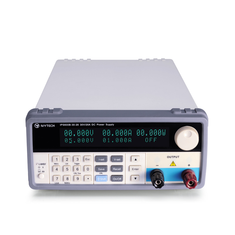 IVYTECH IPS600B-60-<strong>10</strong> 60V 10A High Precision <strong>Switching</strong> DC Power Supply Five Digits Display Porgrammable Testing Power Source
