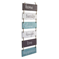 Rustic Wooden Decor Large Hanging Wall Sign