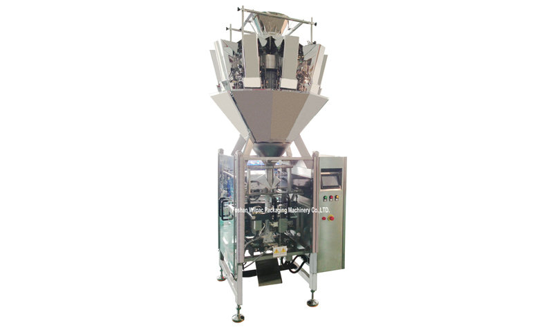 Chips Snack Pouch Automatic Multi Function Multiheads Filling Vertical Packing Machine