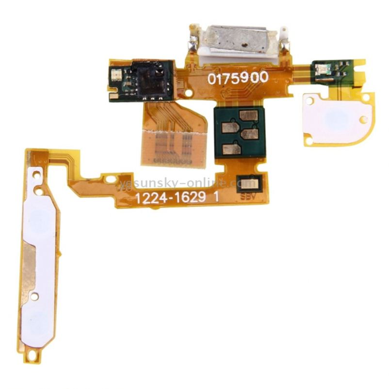 Power Button Flex Cable&amp;Ear Speaker for <strong>Sony</strong> Ericsson Xperia <strong>X10</strong> etc