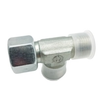 <strong>OEM</strong>/ODM Available high quality galvanized parker Swivel Nut Tee Fitting for Hydraulic Systems