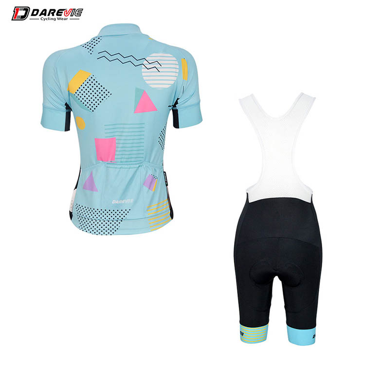 Darevie custom women spring/summer professional jersey With 6.8cm Italy arm band ,breathable/quick-dry cycling jersey