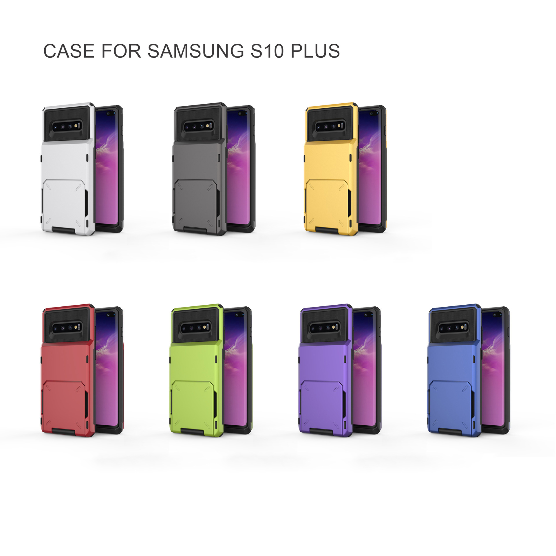 For Samsung S10 Plus case, High quality shockproof phone case for Samsung S10 Plus