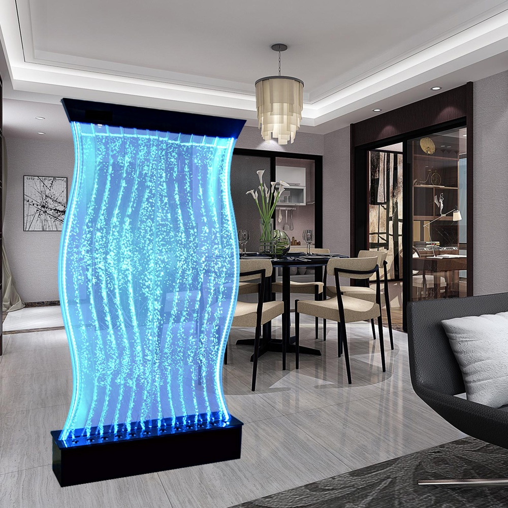 hotel lounge led decorative water bubble wall panel wall decor