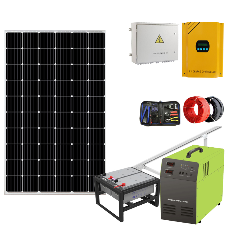 Competitive 100w <strong>1000w</strong> 1.5kw solar panel kit prepaid solar home system