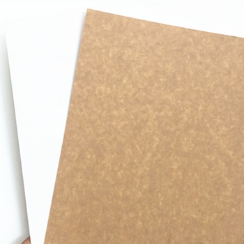 Grade AA 300gsm 325gsm 350gsm Coated Kraft Back Board For Packaging Boxes