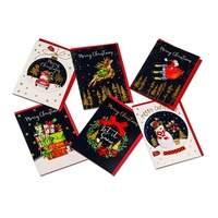 Wholesale Beautiful Holiday blessing christmas greeting card