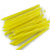 High quality plastic yellow customized drinking straw