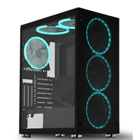 SATE( K880) EATX ATX / Micro ATX ITX factory computer case New design cheap gaming case computer desktop acrylic case