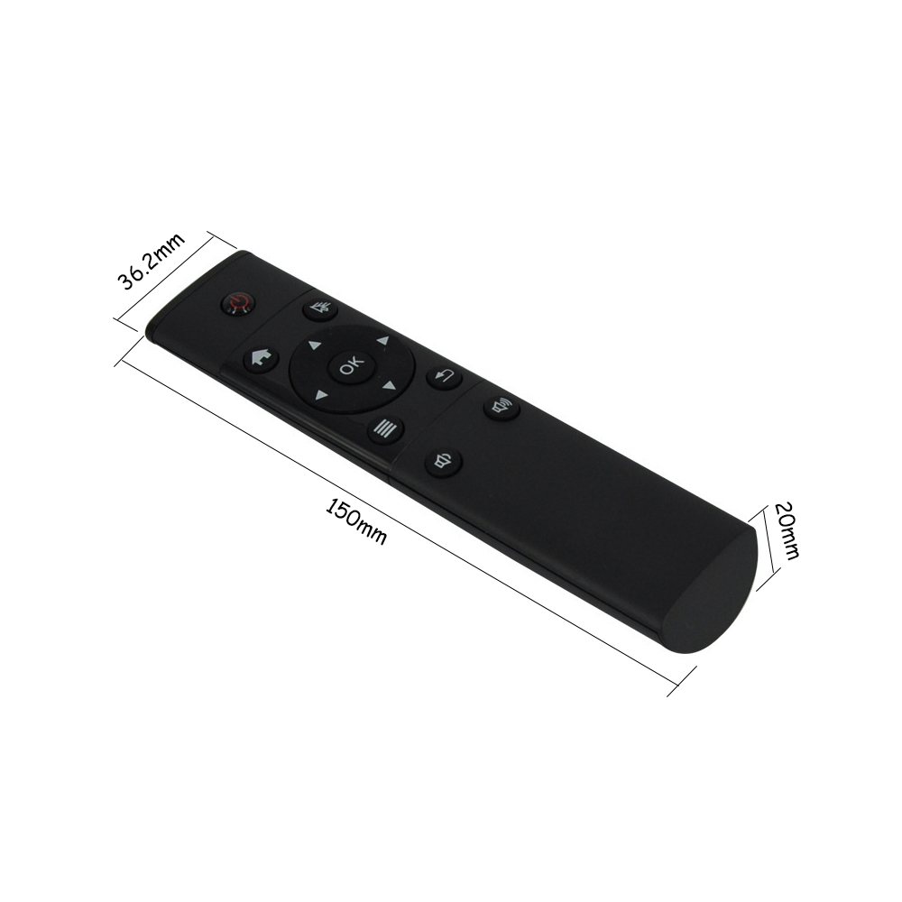 Hot Selling FM4 2.4GHz Wireless  Air Mouse Remote Control For Android Smart TV BOX PC