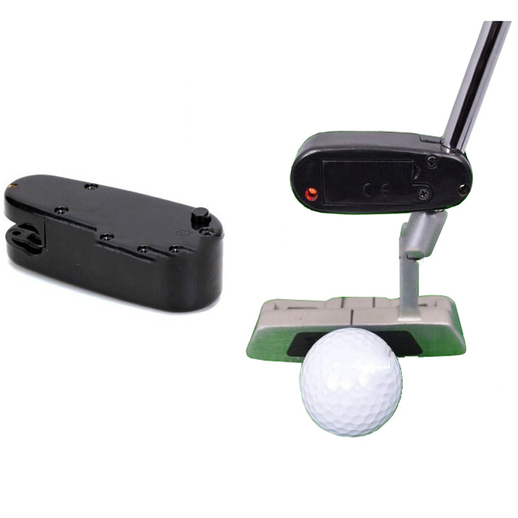 Golf putter laser pointer for putting sight improvement