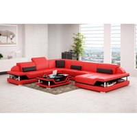 Living Room Sofas Top Buffalo Red Leather Sofa Sets Sectionals & Loveseats