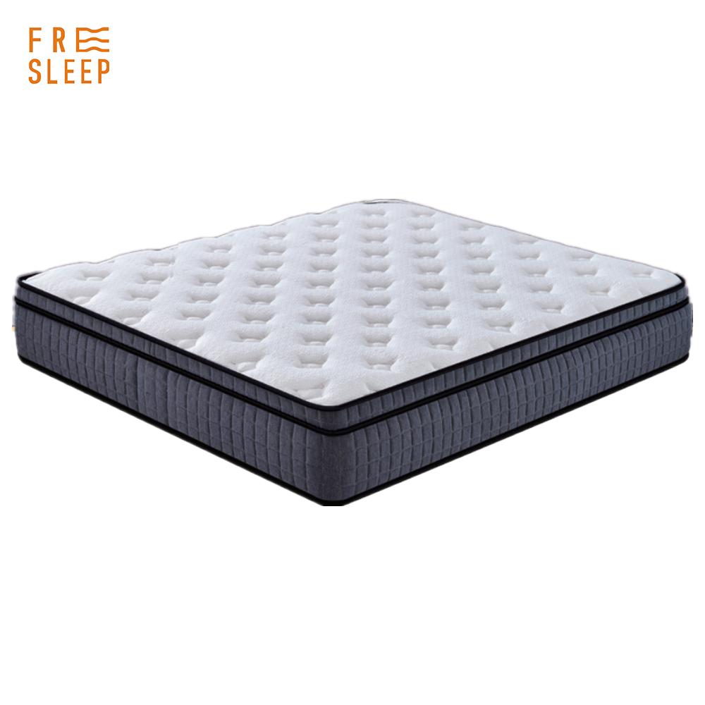 Bedding factory 5 star hotel furniture queen king size pocket spring memory foam mattress - Jozy Mattress   Jozy.net