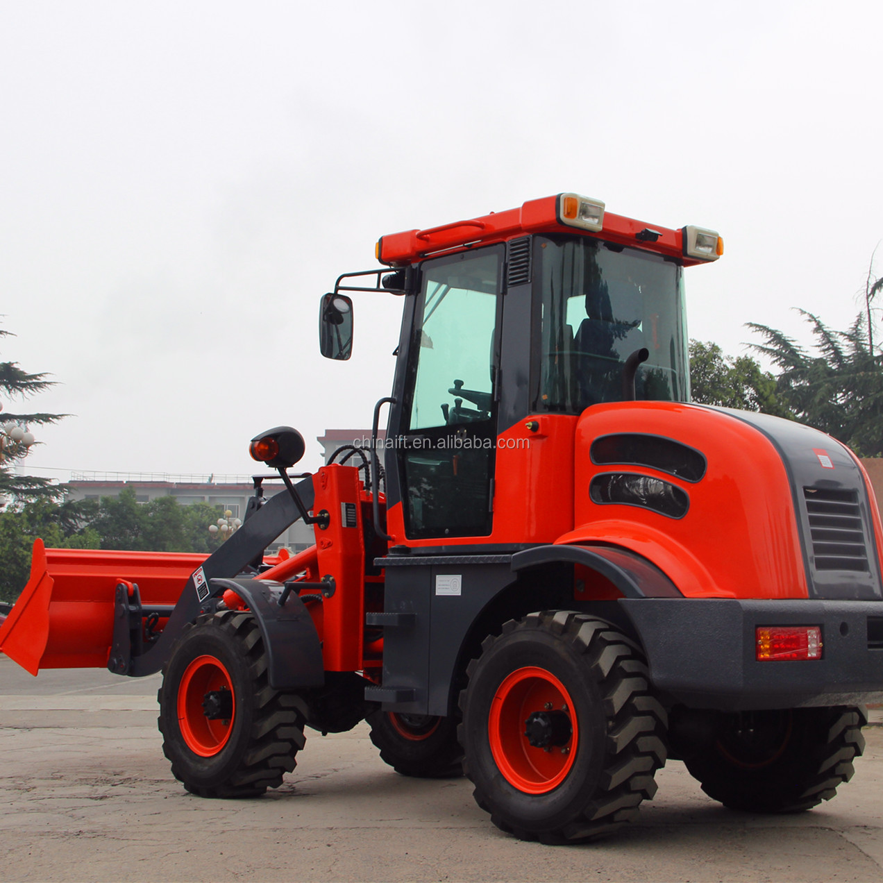 Best selling YFL15H 1.5ton front end loader with CE mini loader