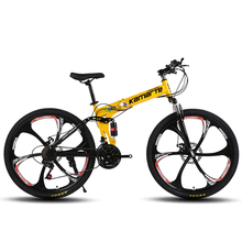 Six knife one round 21 speed newly hot sales 26 inch folding mountain <strong>bike</strong>
