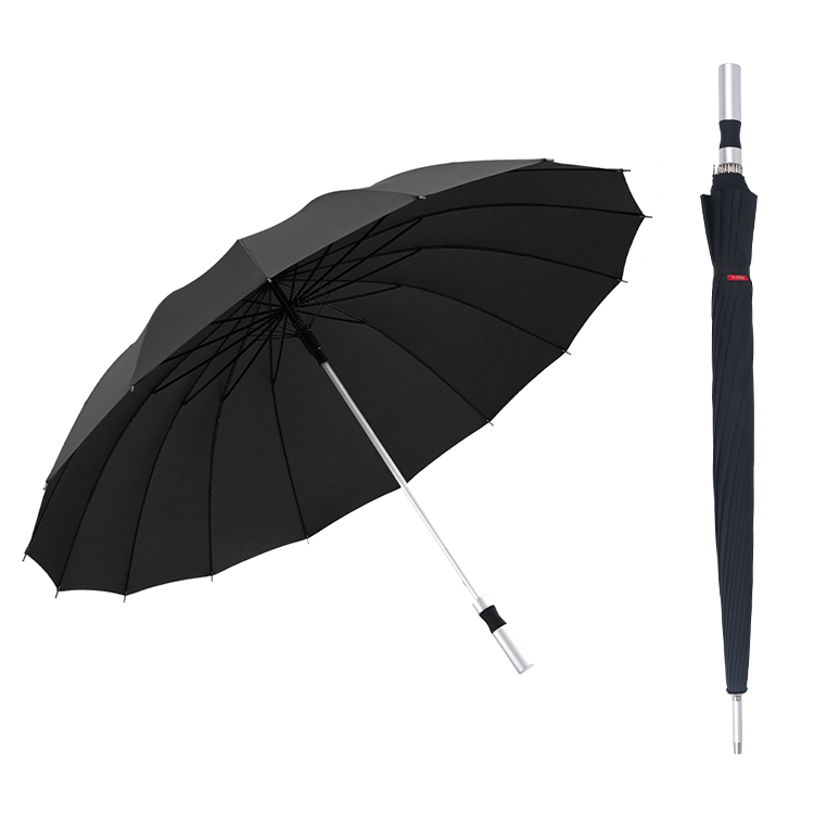 16k high-end luxury umbrella golf automatically opens <strong>customized</strong> umbrella with logo pattern