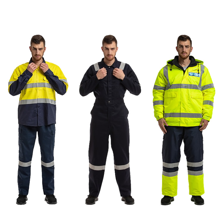 Custom Made Men's Industrial Electrician Mechanic Work Clothing Engineering Uniforms Workwear