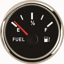 52mm Pointer Fuel Level Gauge Oil Level <strong>Meter</strong> 240-33ohm For Vehicle Oil Tank