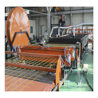 Production line for manufacturing of FRP Reinforcing Mesh for building / concrete / Fiberglass Grating Machinery