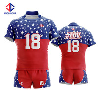 High quality protective body rugby polo shirt football wear jersey uniform for sale