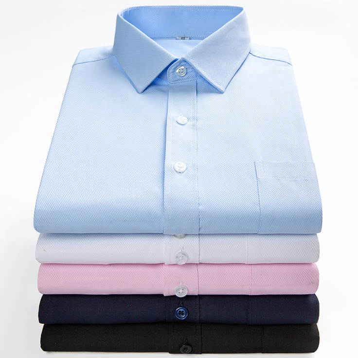 Manufacture High Quality Solid Color Men'<strong>s</strong> Non <strong>Iron</strong> Dress Shirts