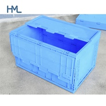 Oem Chinese cheap custom foldable lockable multipurpose package large big pp plastic pallet box with lid