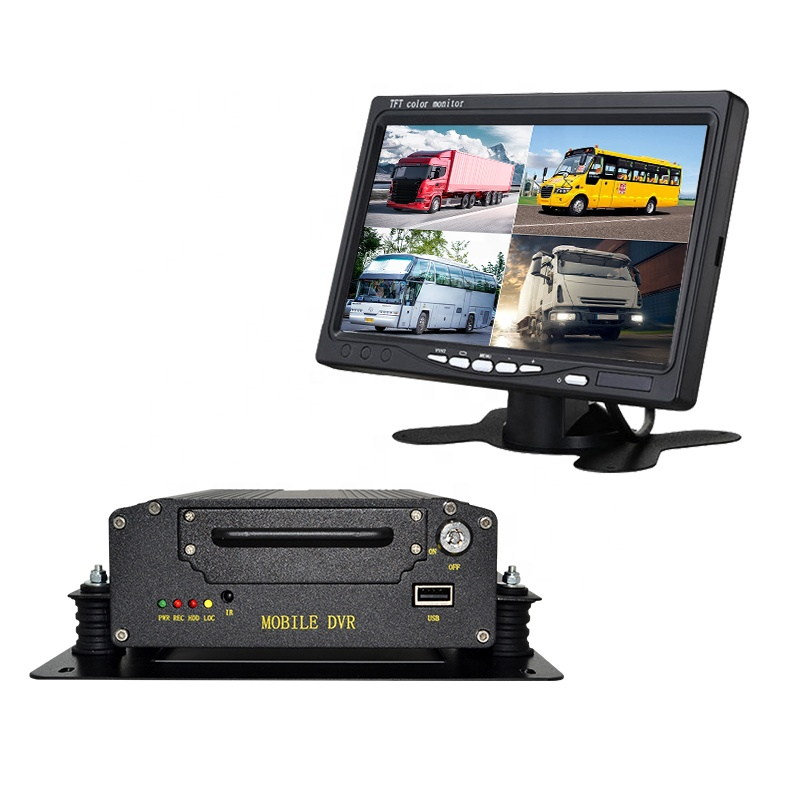 4CH 1080P Mobile <strong>DVR</strong> 2TB Support 3G 4G WiFi CMSV6 HDD GPS MDVR free with Car/Bus/Truck/Vehicles Camera Recorder Waterproof