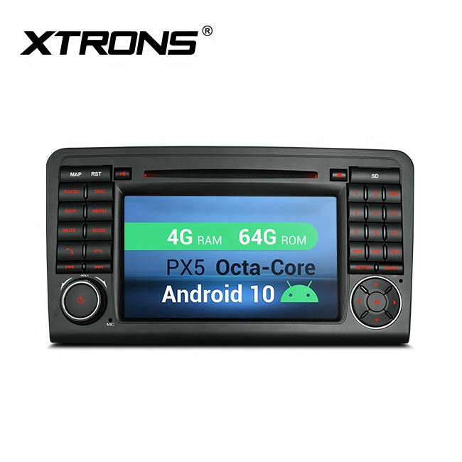 XTRONS 4G+64G octa core Android 10.0 car DVD player for <strong>mercedes</strong>-benz ml <strong>w164</strong>