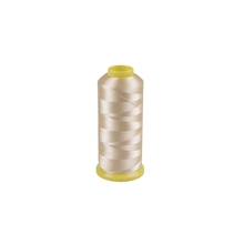 Off white color polyester machine embroidery thread <strong>120</strong>/2