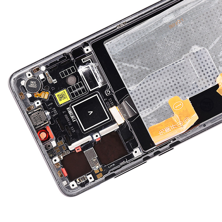 Grandever black lcd for huawei p30 display with frame digitizer assembly