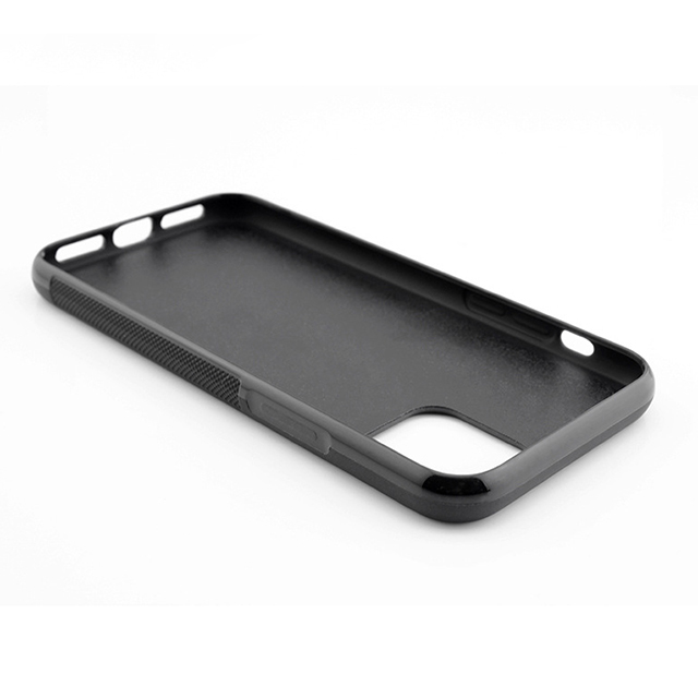TPU PC real carbon fiber phone case for iPhone11 6.5 carbon fiber case