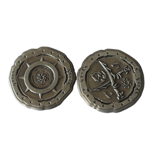 Custom Game Token Coin Metal Game Coins For Board Game
