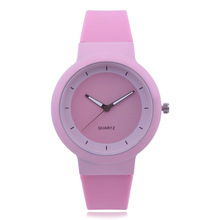 <strong>Hot</strong> Women's Watch Silicone Strap Casual Sports Ladies Watch Gift Clock High Quality Quartz Movement WristWatch