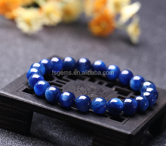 2019 Newest Factory price Euro hot sale Good quality blue kyanite  bracelet  for woman Christmas gift