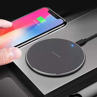 free shipping 2020 10W Fast Charging Wireless Charger Pad Wireless Phone Charger