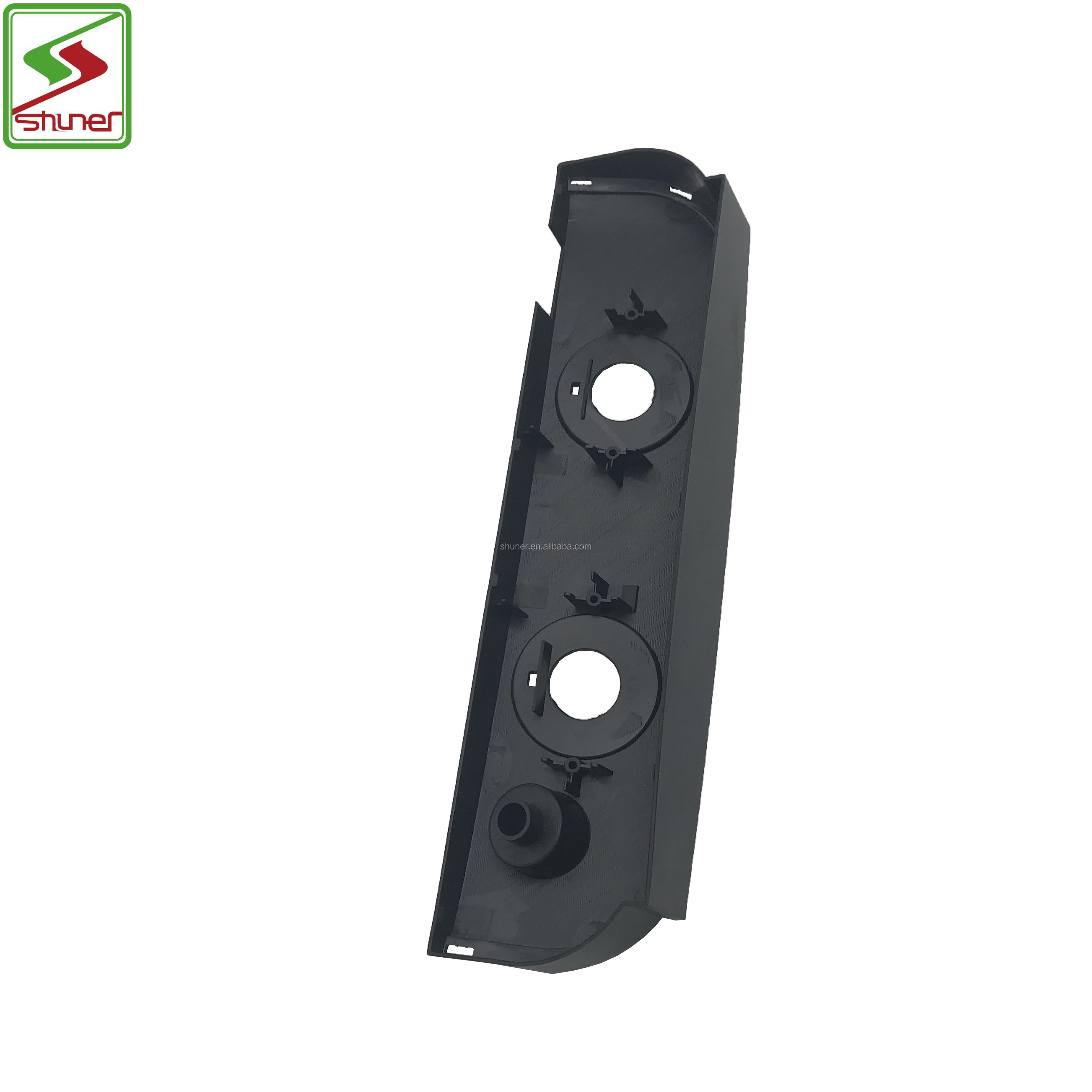 Nice price Control panel cover Plastic parts black Washing Machine Parts