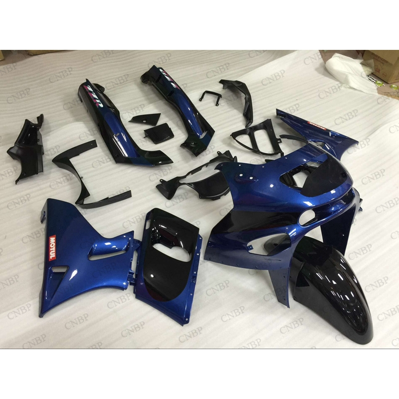 for Kawasaki Zzr400 <strong>01</strong> <strong>02</strong> Fairing for Kawasaki Zzr400 05 06 07 Fairing Kits Zzr 400 1993 - 2007 Motorcycle Fairing Blue Black