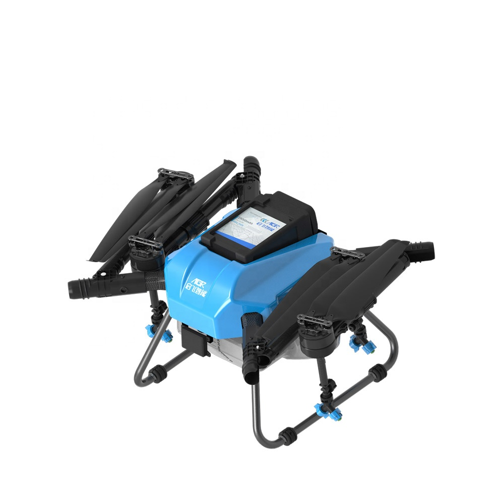 AGR <strong>Q10</strong> RTK radar folding pesticide cheap price spraying drone for agriculture