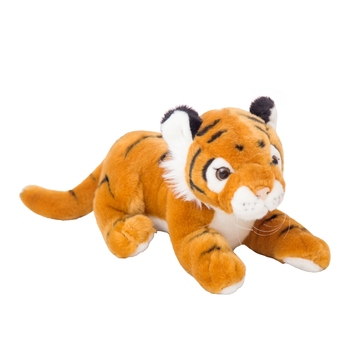 realistic scaring stuffed northeast tiger plush toys white tiger wild animal toys for zoo promotional gifts