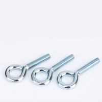 OEM Wholesale customized blue zinc stainless steel plated eye bolts