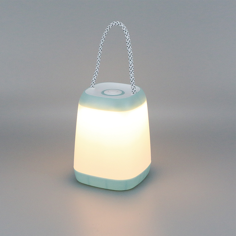 Mini LED Camping Lantern Desk Night Light with strap