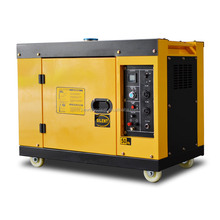Factory directly sale air cooled 12kw super silent type portable generator 15kva soundproof electric generator power plant
