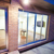 USA standard commercial type aluminium sliding doors with double tempered low-e glazing