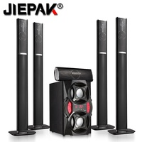 Hot sell 5.1 Professional speaker wireless bluetooth active speaker home theater system with active subwoofer Portable Audio