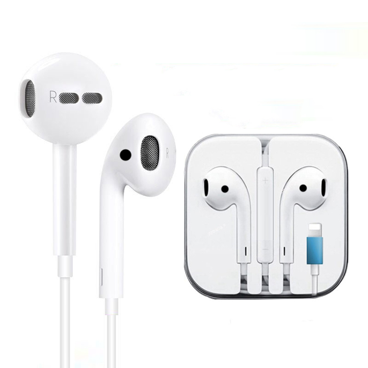 <strong>Factory</strong> Direct Sales Cheap Blue tooth Wired Earphones Headphone With Lighting For Iphone 7 8 X Xs Max Xr