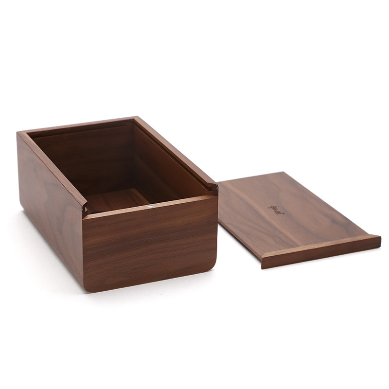 perfect quality walnut wood tissue box cover